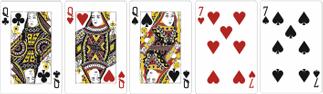 Фулл Хаус (Full House) - три и две одинаковых