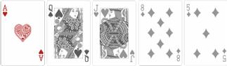 Старшая карта (Highest Card) в техасском холдеме выигрывает редко